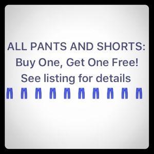 Denim - BOGO jeans, pants, and shorts!